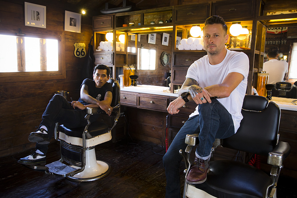 Barber Apparel : Dorseys Barber Shop at Deus Deus Ex MachinaDeus Ex Machina