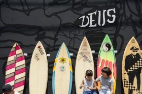 Deus Tokyo Surf Swap